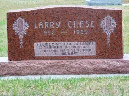 CHASE, LARRY - Brown County, Nebraska | LARRY CHASE - Nebraska Gravestone Photos