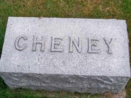 CHENEY, FAMILY - Brown County, Nebraska   FAMILY CHENEY - Nebraska Gravestone Photos