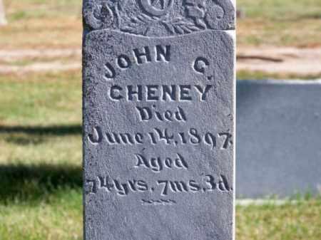 CHENEY, JOHN C. - Brown County, Nebraska   JOHN C. CHENEY - Nebraska Gravestone Photos