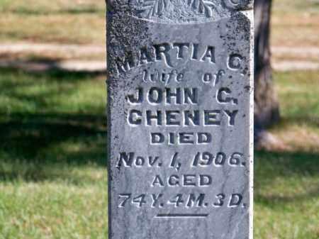 CHENEY, MARTIA C. - Brown County, Nebraska | MARTIA C. CHENEY - Nebraska Gravestone Photos