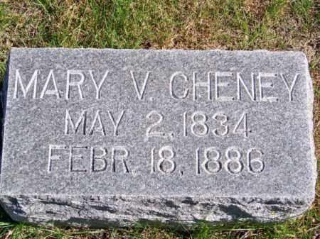 CHENEY, MARY V. - Brown County, Nebraska | MARY V. CHENEY - Nebraska Gravestone Photos