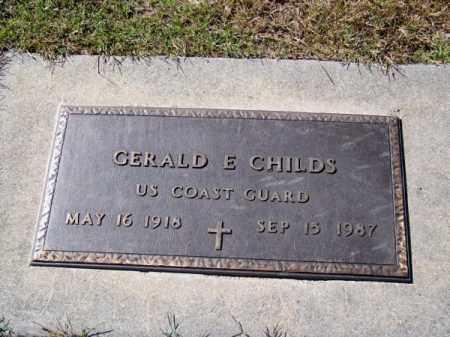 CHILDS, GERALD E. - Brown County, Nebraska   GERALD E. CHILDS - Nebraska Gravestone Photos