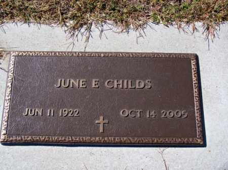 CHILDS, JUNE E. - Brown County, Nebraska | JUNE E. CHILDS - Nebraska Gravestone Photos