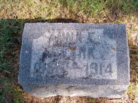 CLARK, ANNA E. - Brown County, Nebraska   ANNA E. CLARK - Nebraska Gravestone Photos