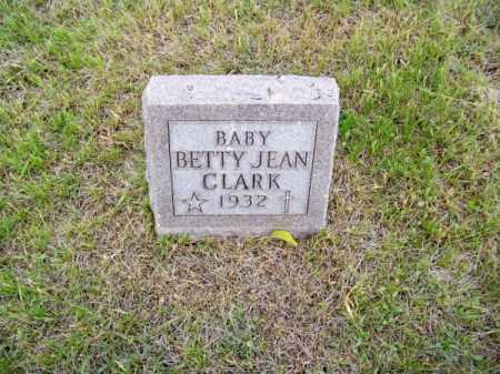 CLARK, BETTY JEAN - Brown County, Nebraska | BETTY JEAN CLARK - Nebraska Gravestone Photos
