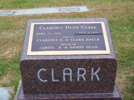 CLARK, CLARENCE DEAN - Brown County, Nebraska   CLARENCE DEAN CLARK - Nebraska Gravestone Photos
