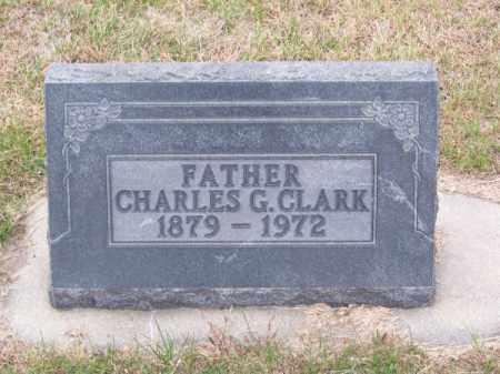 CLARK, CHARLES G. - Brown County, Nebraska | CHARLES G. CLARK - Nebraska Gravestone Photos