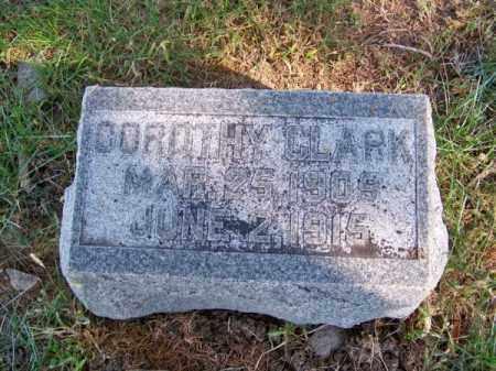 CLARK, DOROTHY - Brown County, Nebraska | DOROTHY CLARK - Nebraska Gravestone Photos