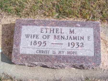 CLARK, ETHEL M. - Brown County, Nebraska | ETHEL M. CLARK - Nebraska Gravestone Photos