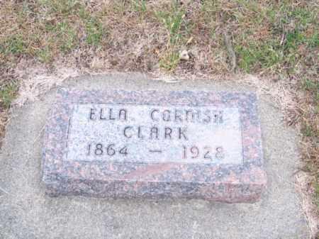 CLARK, ELLA - Brown County, Nebraska | ELLA CLARK - Nebraska Gravestone Photos
