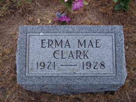 CLARK, ERMA MAE - Brown County, Nebraska | ERMA MAE CLARK - Nebraska Gravestone Photos