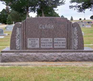 CLARK, CLARA L. - Brown County, Nebraska | CLARA L. CLARK - Nebraska Gravestone Photos