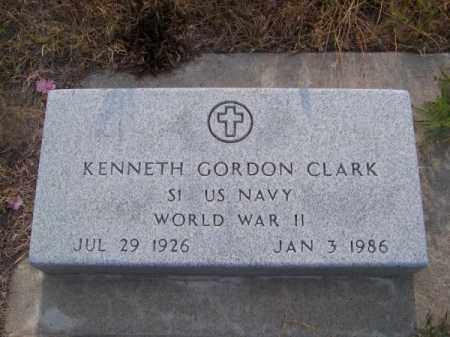 CLARK, KENNETH GORDON - Brown County, Nebraska | KENNETH GORDON CLARK - Nebraska Gravestone Photos