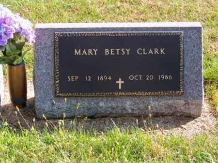 CLARK, MARY BETSY - Brown County, Nebraska   MARY BETSY CLARK - Nebraska Gravestone Photos