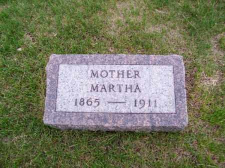 CLARK, MARTHA - Brown County, Nebraska | MARTHA CLARK - Nebraska Gravestone Photos