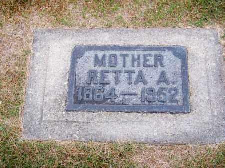 CLARK, RETTA A. - Brown County, Nebraska | RETTA A. CLARK - Nebraska Gravestone Photos