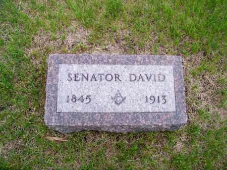 CLARK, SENATOR DAVID - Brown County, Nebraska | SENATOR DAVID CLARK - Nebraska Gravestone Photos