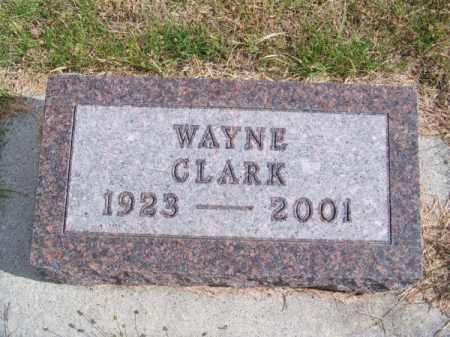CLARK, WAYNE - Brown County, Nebraska   WAYNE CLARK - Nebraska Gravestone Photos