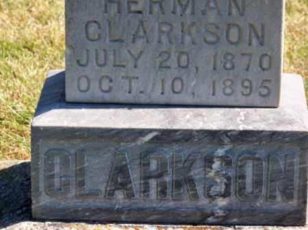 CLARKSON, HERMAN - Brown County, Nebraska | HERMAN CLARKSON - Nebraska Gravestone Photos