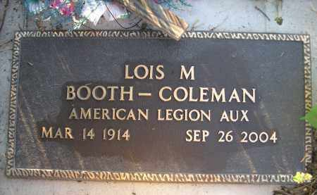 COLEMAN, LOIS M. - Brown County, Nebraska | LOIS M. COLEMAN - Nebraska Gravestone Photos