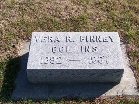FINNEY COLLINS, VERA R. - Brown County, Nebraska   VERA R. FINNEY COLLINS - Nebraska Gravestone Photos