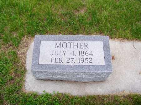 COOK, MARY A. - Brown County, Nebraska   MARY A. COOK - Nebraska Gravestone Photos