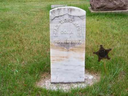 CRAWFORD, CHAS. T. - Brown County, Nebraska | CHAS. T. CRAWFORD - Nebraska Gravestone Photos