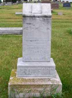 CRAWFORD, SARAH - Brown County, Nebraska | SARAH CRAWFORD - Nebraska Gravestone Photos