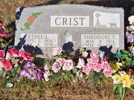 CRIST, ETHEL L. - Brown County, Nebraska | ETHEL L. CRIST - Nebraska Gravestone Photos