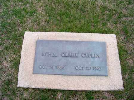 CUPLIN, ETHEL CLARE - Brown County, Nebraska | ETHEL CLARE CUPLIN - Nebraska Gravestone Photos
