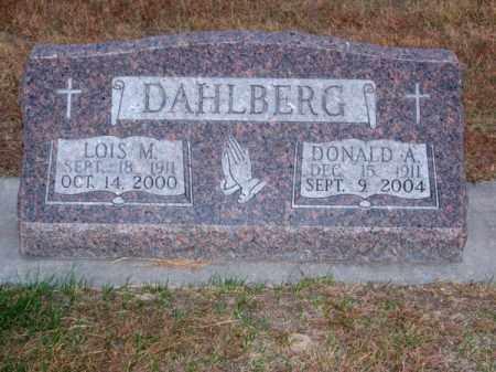 DAHLBERG, LOIS M. - Brown County, Nebraska   LOIS M. DAHLBERG - Nebraska Gravestone Photos