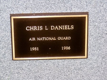 DANIELS, CHRIS L. - Brown County, Nebraska | CHRIS L. DANIELS - Nebraska Gravestone Photos