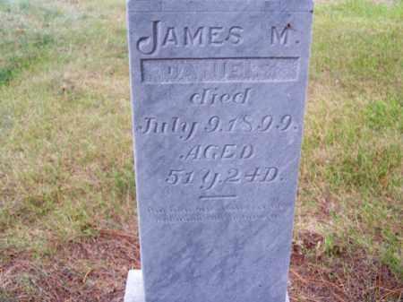 DANIELS, JAMES M. - Brown County, Nebraska   JAMES M. DANIELS - Nebraska Gravestone Photos
