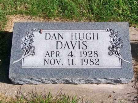 DAVIS, DAN HUGH - Brown County, Nebraska | DAN HUGH DAVIS - Nebraska Gravestone Photos