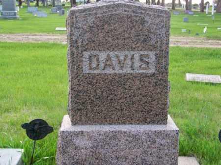 DAVIS, FAMILY - Brown County, Nebraska   FAMILY DAVIS - Nebraska Gravestone Photos