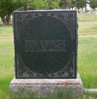DAVIS, FAMILY - Brown County, Nebraska | FAMILY DAVIS - Nebraska Gravestone Photos