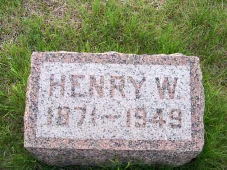 DAVIS, HENRY W. - Brown County, Nebraska | HENRY W. DAVIS - Nebraska Gravestone Photos