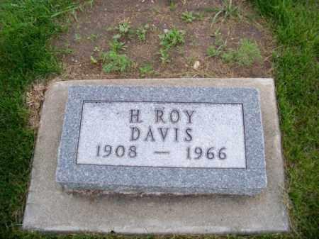 DAVIS, H. ROY - Brown County, Nebraska   H. ROY DAVIS - Nebraska Gravestone Photos