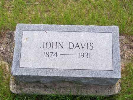 DAVIS, JOHN - Brown County, Nebraska   JOHN DAVIS - Nebraska Gravestone Photos
