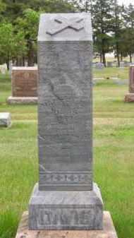 DAVIS, MARTHA E. - Brown County, Nebraska | MARTHA E. DAVIS - Nebraska Gravestone Photos