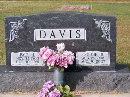 DAVIS, PAUL L. - Brown County, Nebraska | PAUL L. DAVIS - Nebraska Gravestone Photos