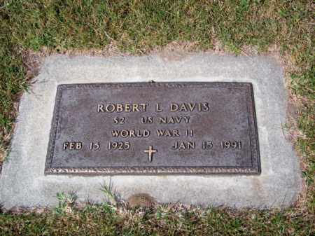 DAVIS, ROBERT L. - Brown County, Nebraska | ROBERT L. DAVIS - Nebraska Gravestone Photos