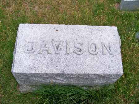 DAVISON, FAMILY - Brown County, Nebraska | FAMILY DAVISON - Nebraska Gravestone Photos