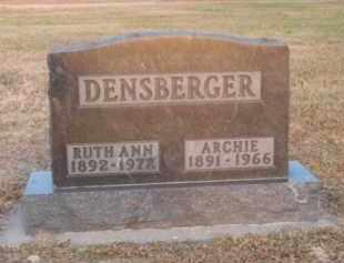 DENSBERGER, RUTH ANN - Brown County, Nebraska | RUTH ANN DENSBERGER - Nebraska Gravestone Photos