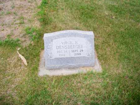 DENSBERGER, VIRGIL H. - Brown County, Nebraska | VIRGIL H. DENSBERGER - Nebraska Gravestone Photos