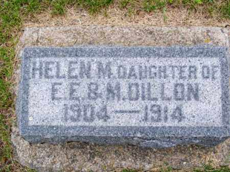 DILLON, HELEN M. - Brown County, Nebraska | HELEN M. DILLON - Nebraska Gravestone Photos