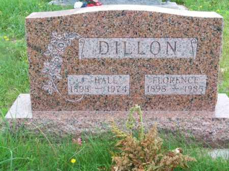 DILLON, J. HALL - Brown County, Nebraska | J. HALL DILLON - Nebraska Gravestone Photos