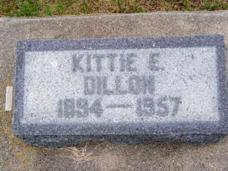 DILLON, KITTIE E. - Brown County, Nebraska | KITTIE E. DILLON - Nebraska Gravestone Photos