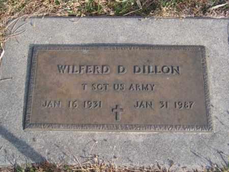 DILLON, WILFERD D. - Brown County, Nebraska   WILFERD D. DILLON - Nebraska Gravestone Photos