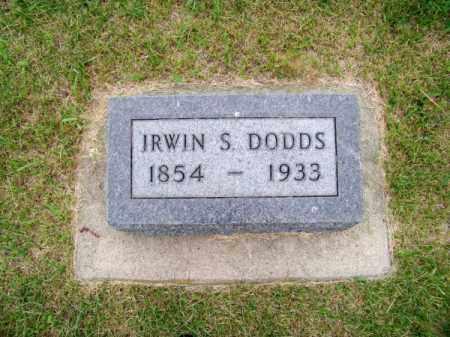 DODDS, IRWIN S. - Brown County, Nebraska   IRWIN S. DODDS - Nebraska Gravestone Photos